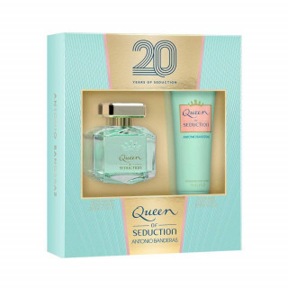 Coffret Queen Of Seduction Feminino Eau de Toilette 80ml + Body Lotion 75ml Antonio Banderas