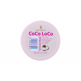 Máscara Capilar Lee Stafford Coco Loco Coconut 200ml