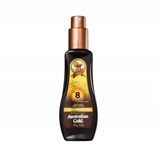 Protetor Solar Spray Gel Instant Bronzer FPS8 Australian Gold 125ml